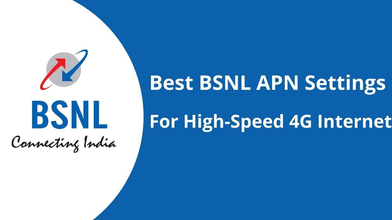BSNL APN Settings