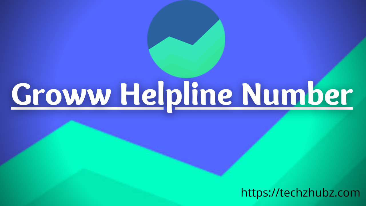 Groww helpline number