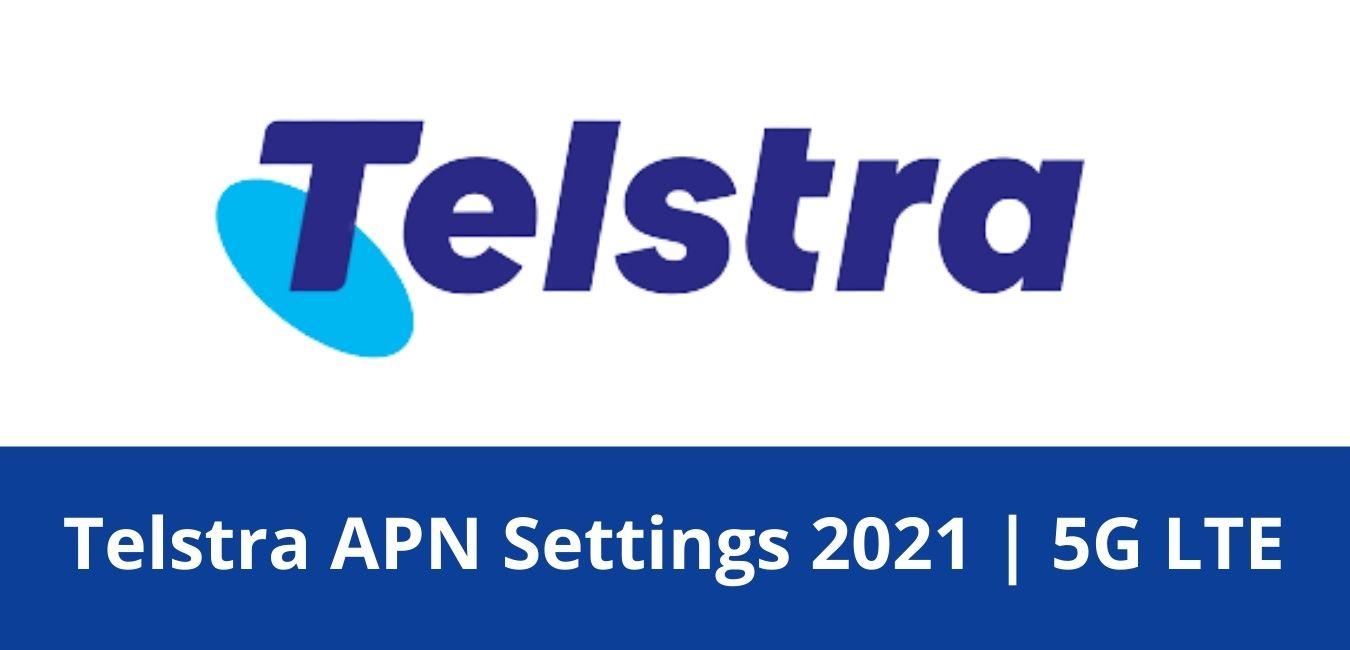 Telstra APN Settings