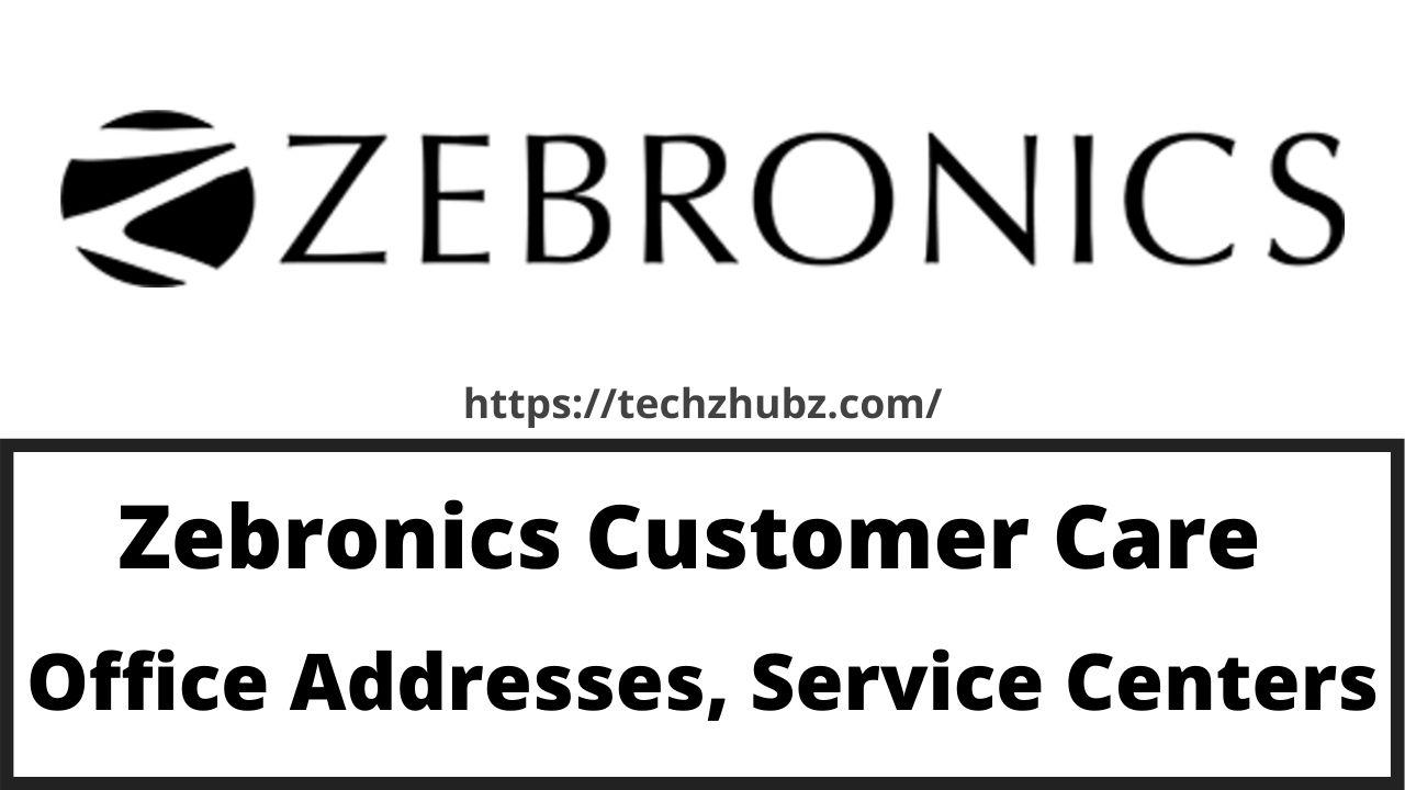 Zebronics Customer Care