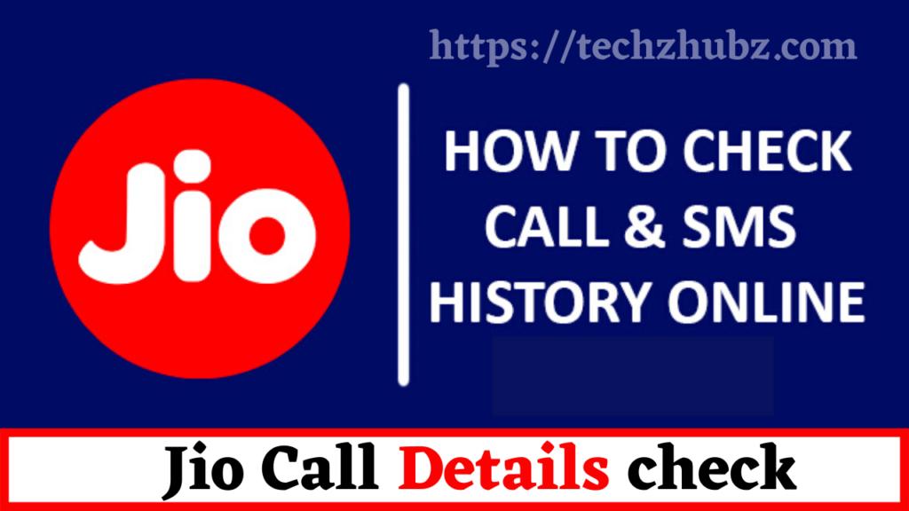 Jio Call Details