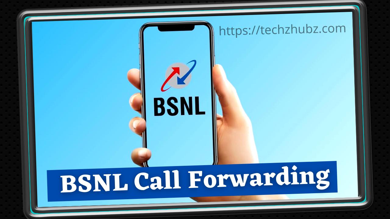 BSNL Call Forwarding Activation/Deactivation