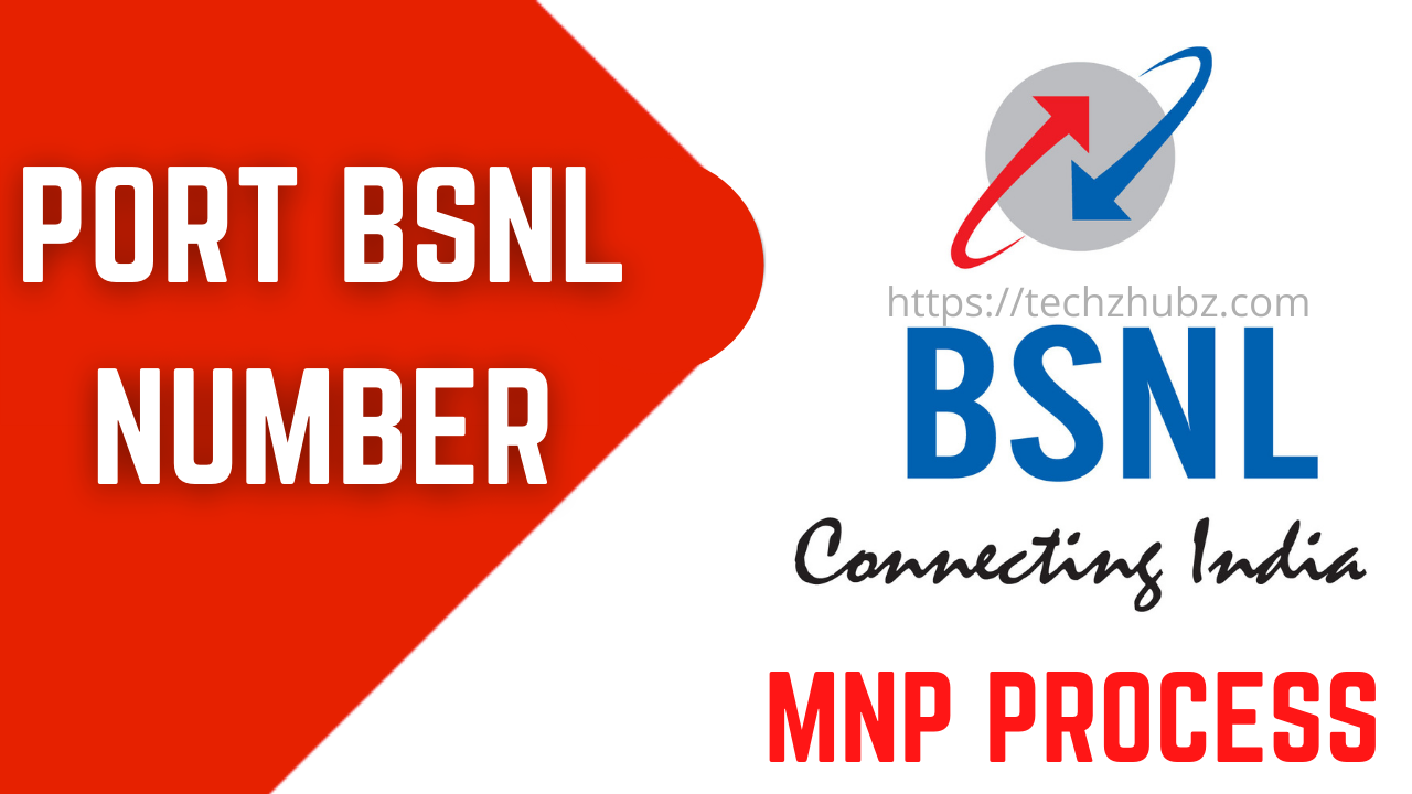 How to Port BSNL Mobile Number