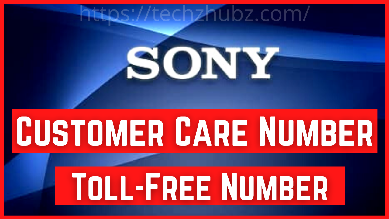 Sony Customer Care Number