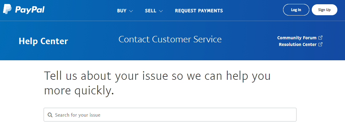 paypal Customer Care Number