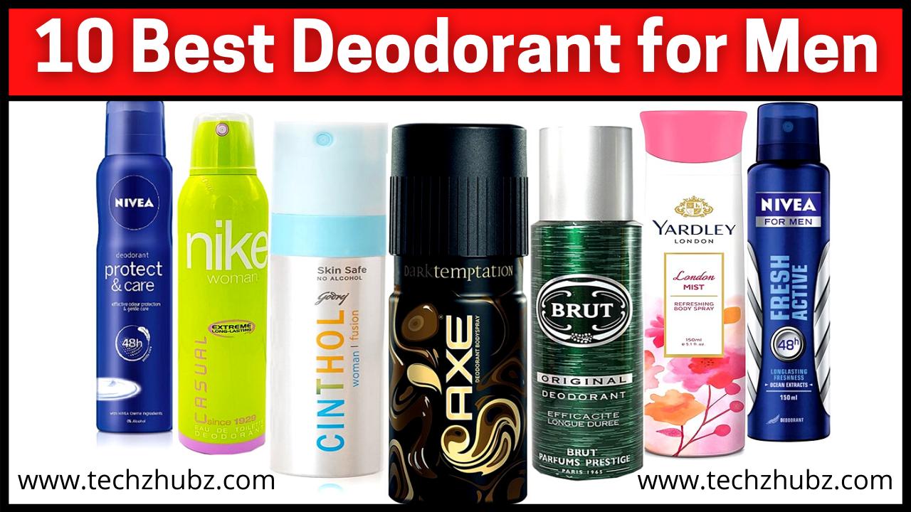 Best Deodorant for Men in India