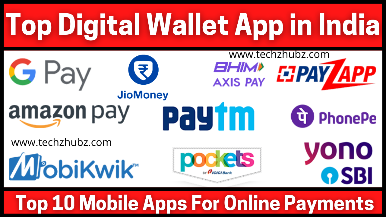 Top 10 Mobile Apps For Online Payments