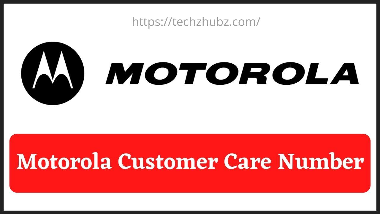 Motorola Customer Care
