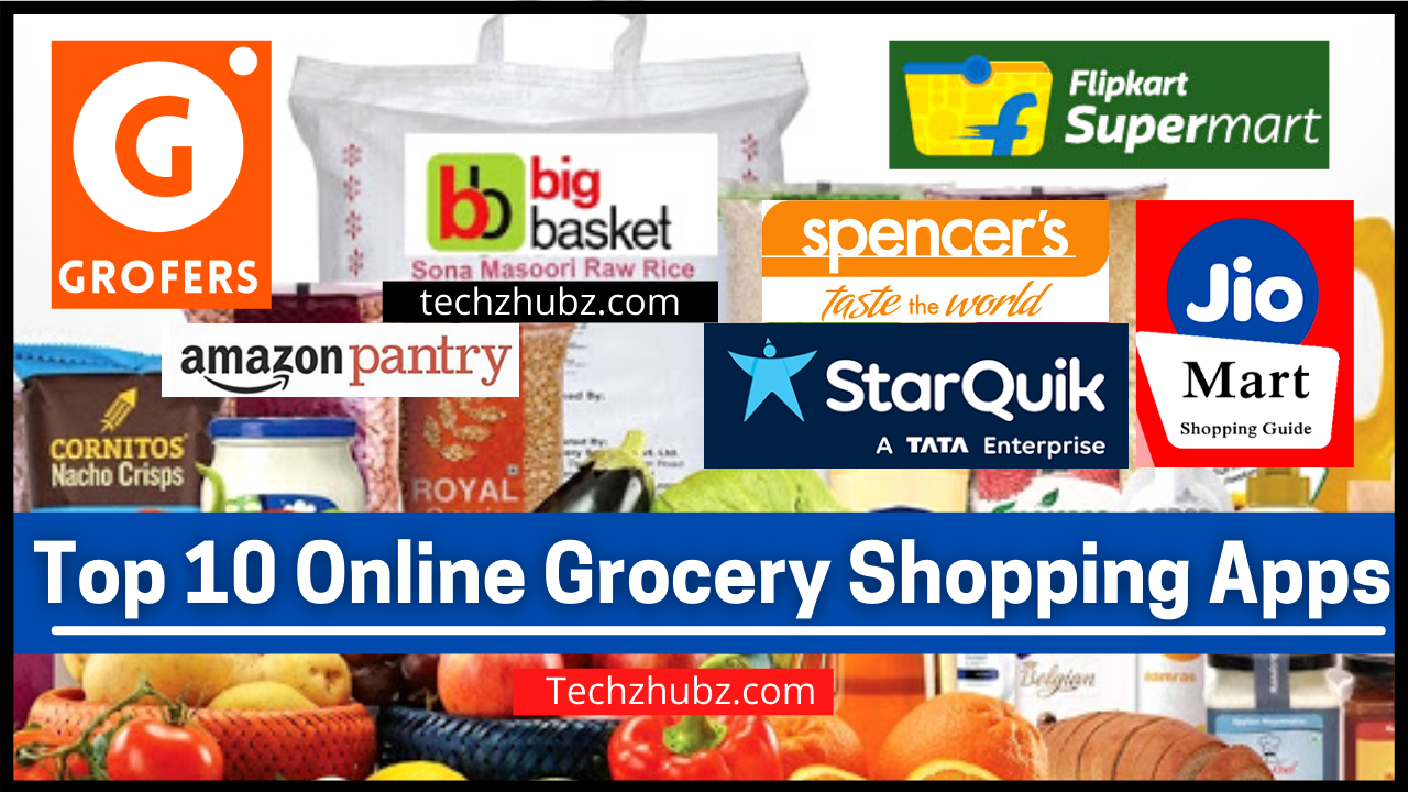 Top 10 Online Grocery Shopping Apps in India