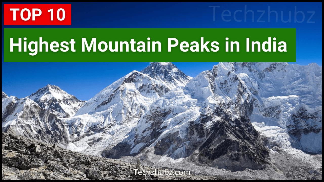 Highest peak in India