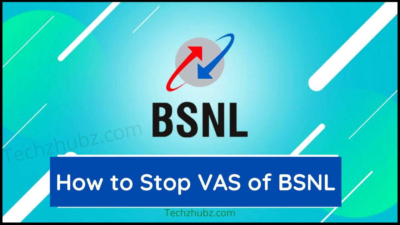 How to Deactivate VAS of BSNL