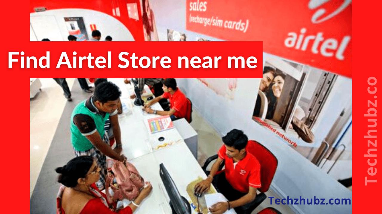 Airtel Store near me