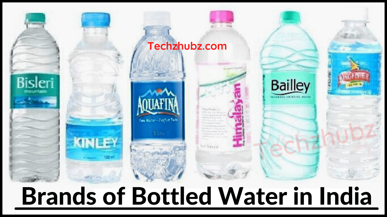 Best Brands of Bottled Water in India
