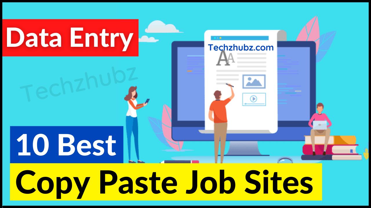 Best Copy Paste Job Sites