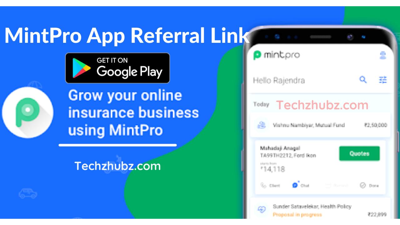 MintPro App Referral Link
